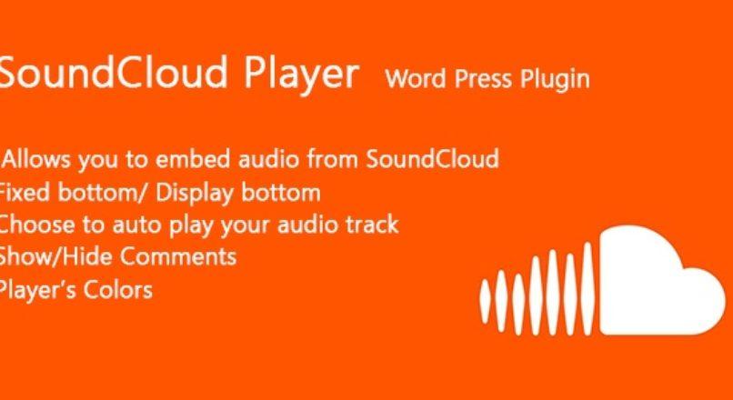 SoundCloud Player Word Press Plugin