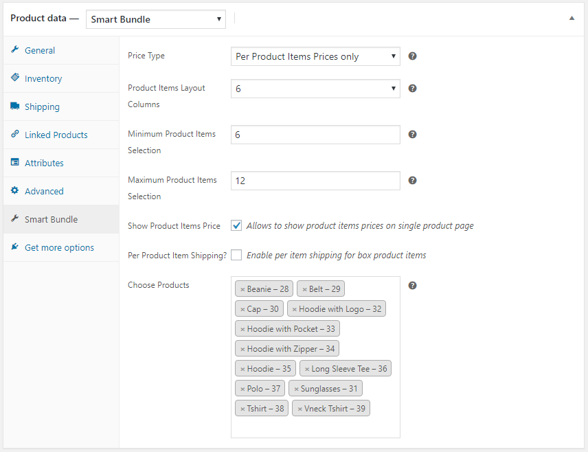 WooCommerce Smart Product Bundles Plugin - 1