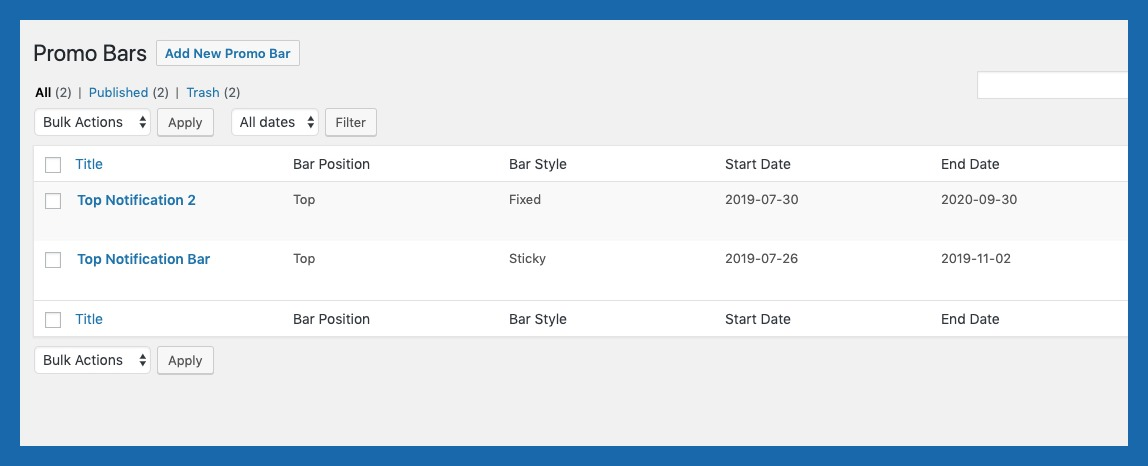 WordPress Top Bar Plugin | WooCommerce Top Bar Plugin - 5