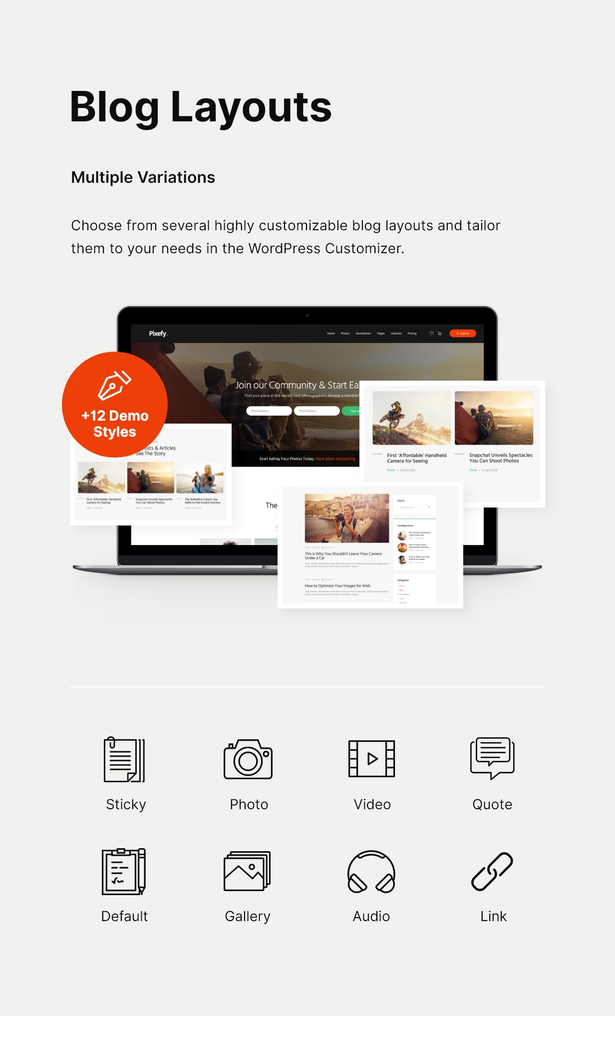 Pixefy | Stock Photography Marketplace Theme - 5