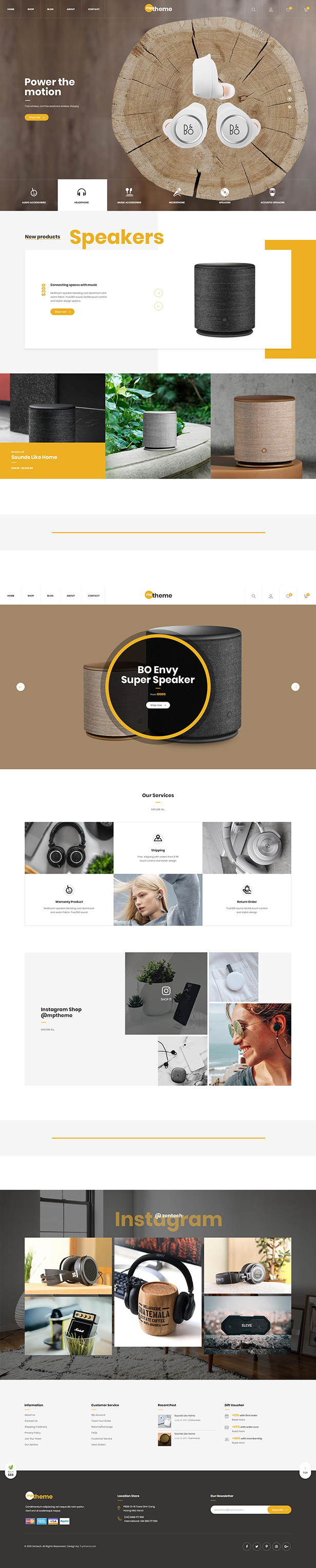 Mptheme - Tech Shop WooCommerce Theme - 4