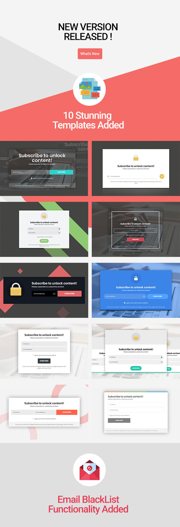 Subscribe to Unlock Opt In Content Locker WordPress Plugin - 1