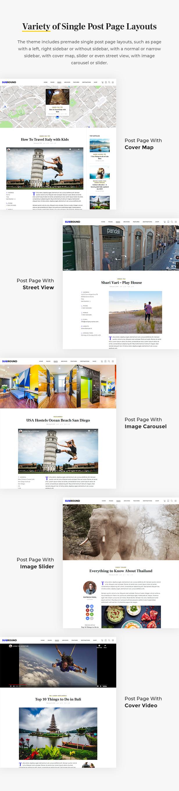 Surround - Vlog & Blog WordPress Theme - 6