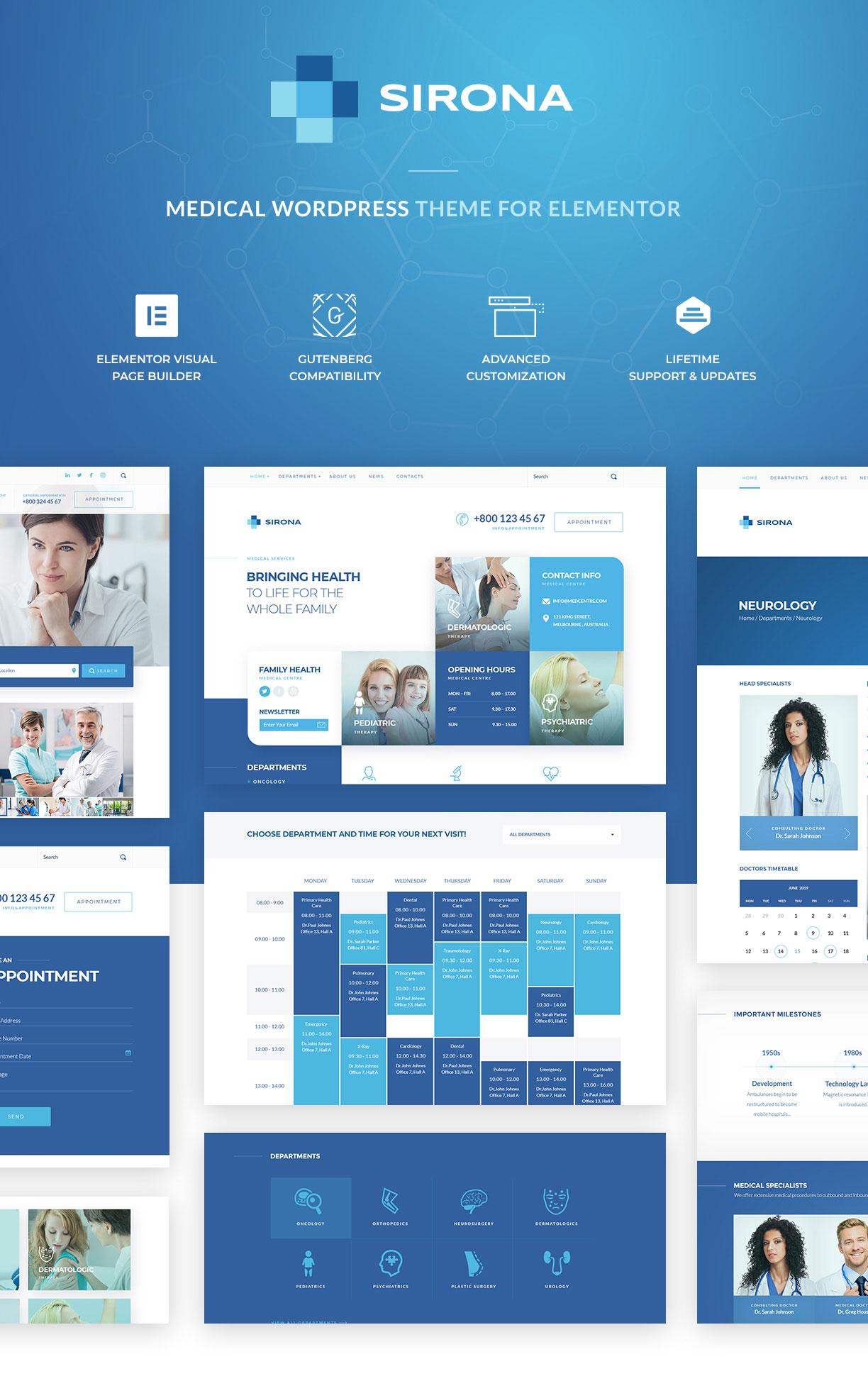 Sirona - Health and Medical Clinic - 1
