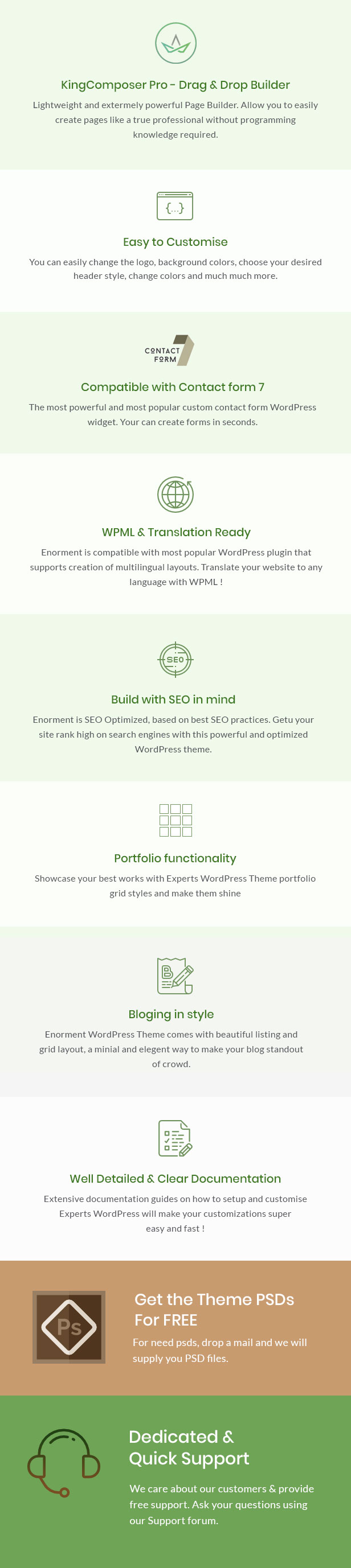Eronment - Environmental WordPress theme - 2