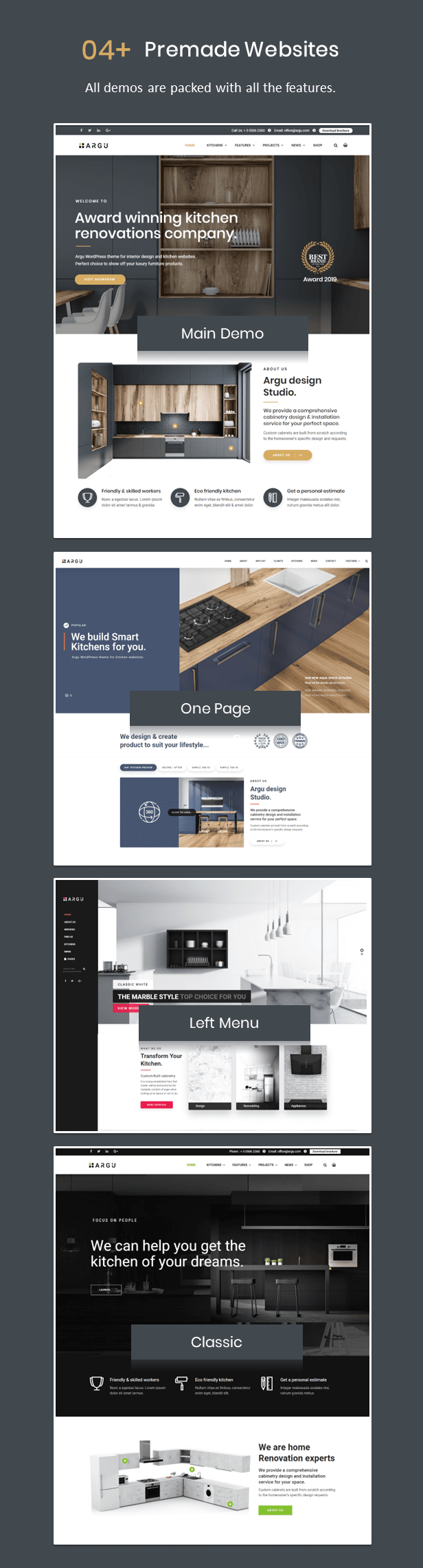 Kitchen WordPress