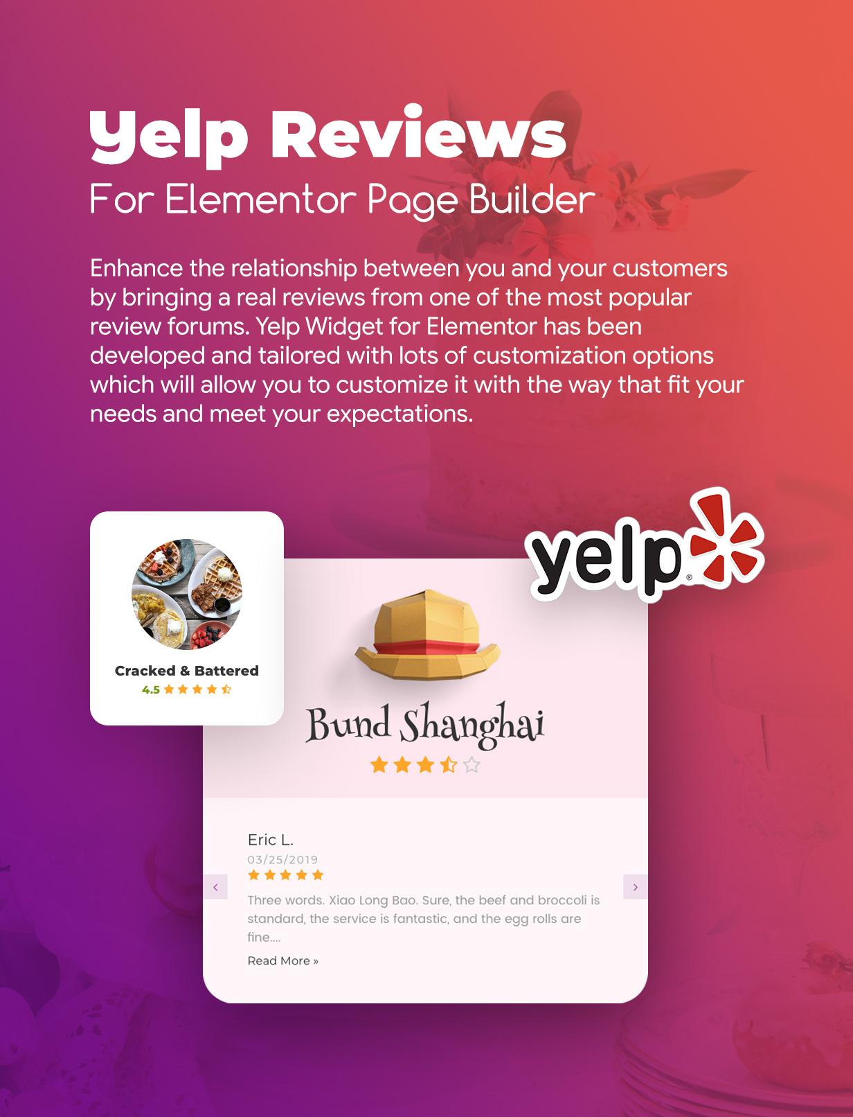 Premium Reviews & Testimonials Widgets for Elementor - 3