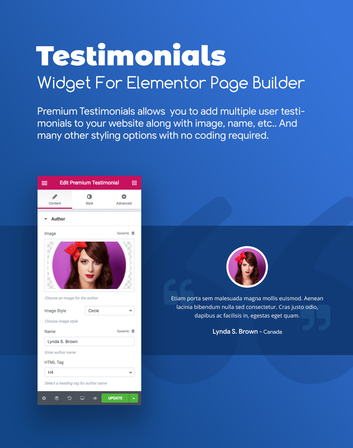 Premium Reviews & Testimonials Widgets for Elementor - 4