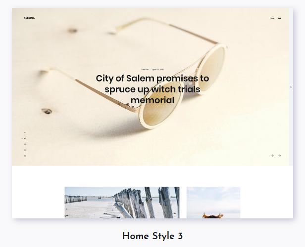 Arkona - Personal Blog & Magazine WordPress Theme - 3