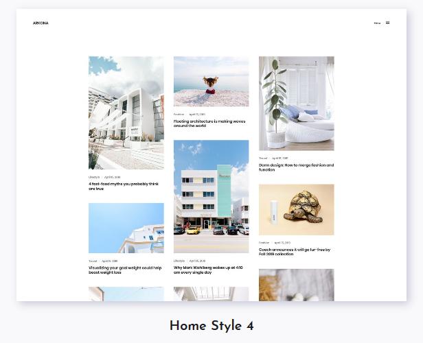 Arkona - Personal Blog & Magazine WordPress Theme - 4
