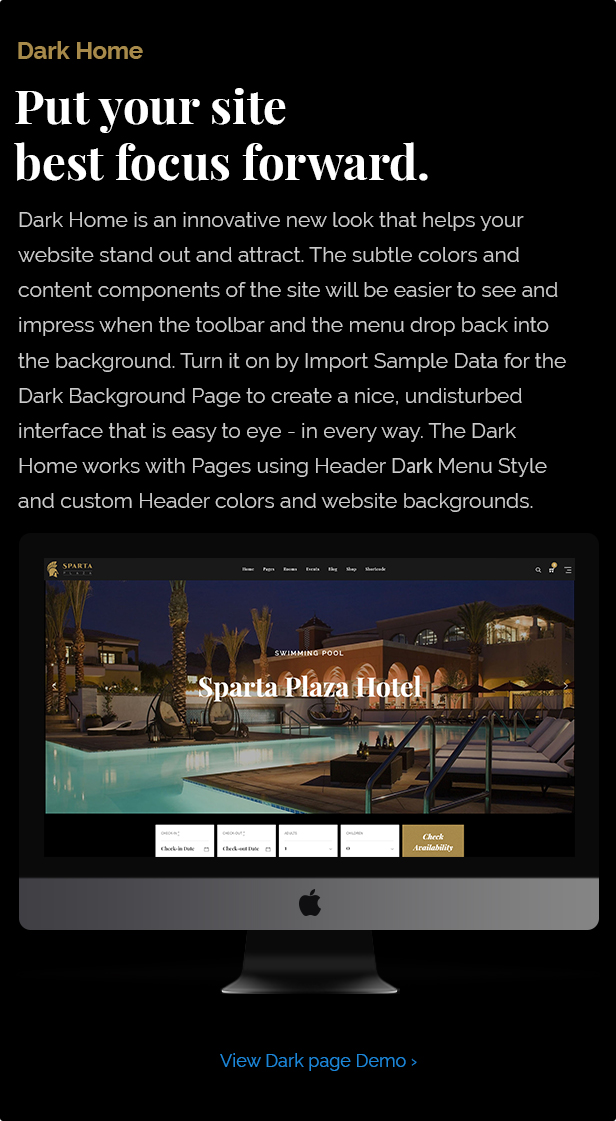 Sparta - Hotel Booking WordPress Theme - 8