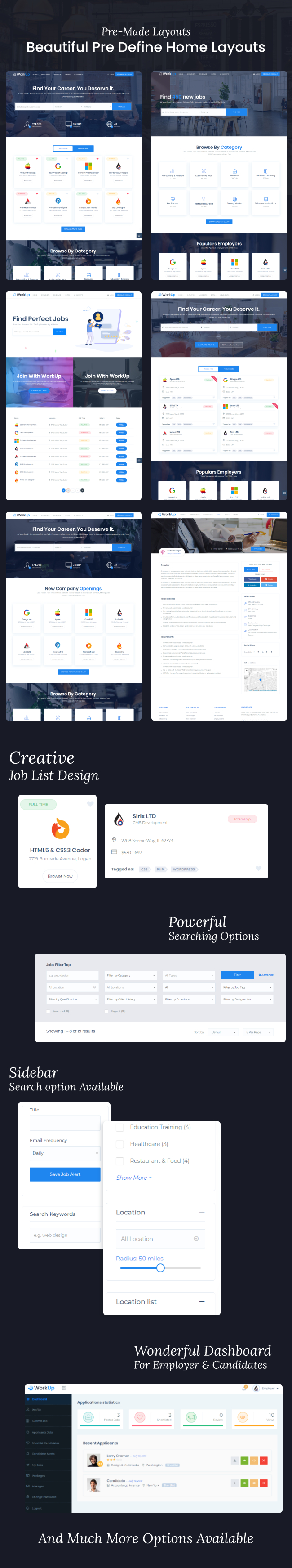 Workup – Job Board WordPress Theme - 4
