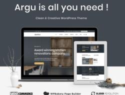 Argu –  Kitchen WordPress Theme