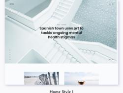 Arkona – Personal Blog & Magazine WordPress Theme