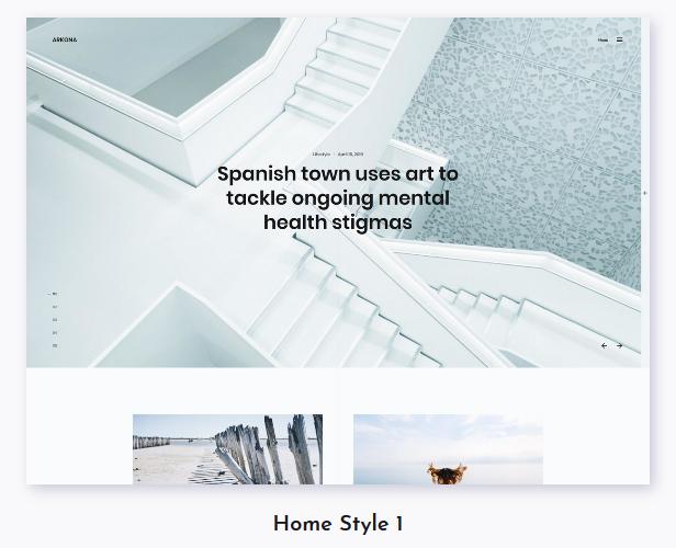Arkona - Personal Blog & Magazine WordPress Theme - 1