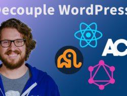 Crash Course: Headless WordPress with WPGraphQL, ACF, and React – Video Tutorial