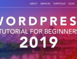 How To Make A WordPress Website 2019 | For Beginners – Video Tutorial