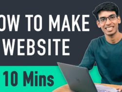 How to Make a Website in 10 mins – Simple & Easy – Video Tutorial