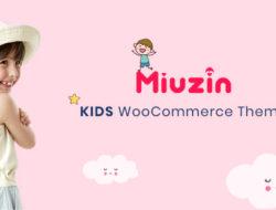 Miuzin – Kids WooCommerce WordPress Theme