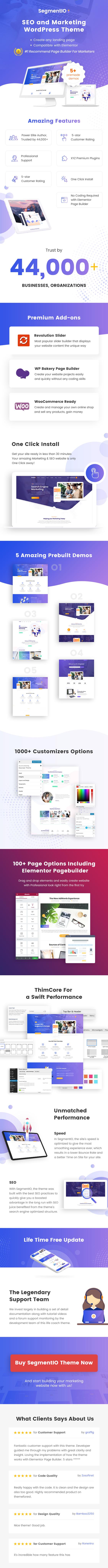 SEOnest - Marketing WordPress Theme - 1