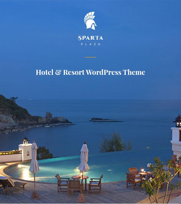 Sparta - Hotel Booking WordPress Theme - 4