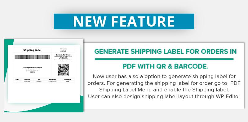 WooCommerce PDF Invoice & Packing Slip Generator - 2