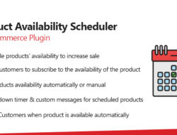 WooCommerce Product Availability Scheduler Plugin