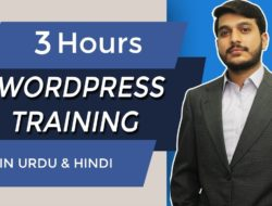 WordPress Training in Urdu and Hindi [2018] (3 Hours) – Video Tutorial