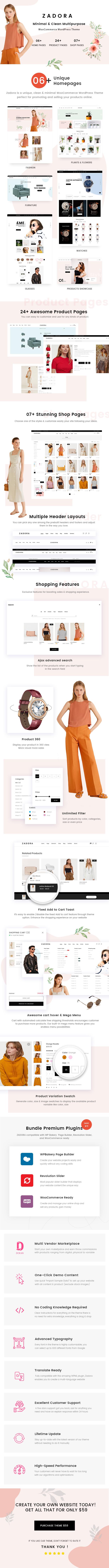 Minimal & Clean Multipurpose WooCommerce WordPress Theme