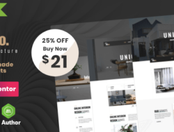 Diaco – Architecture & Interior Design Elementor WordPress Theme