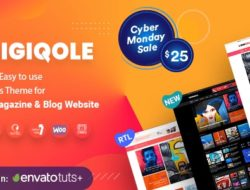 Digiqole – News Magazine WordPress Theme