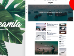 Dreamla – Clean WordPress Blog