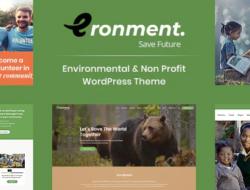 Eronment – Environmental WordPress theme