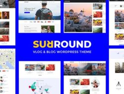 Surround – Vlog & Blog WordPress Theme