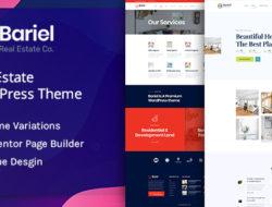 Bariel – Real Estate WordPress Theme
