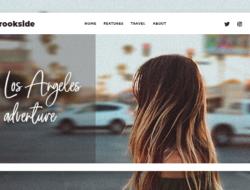 Brookside – Personal WordPress Blog Theme