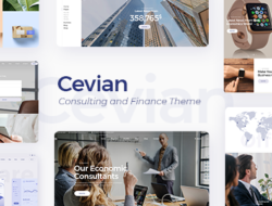 Cevian – Creative Agency and Startup Theme