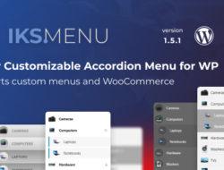 Iks Menu – Super Customizable Accordion Menu for WordPress