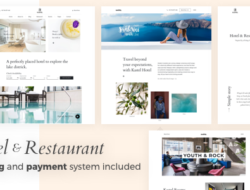 Kastel – Hotel & Restaurant WordPress Theme