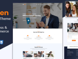 Lernen – Education Courses WordPress Theme