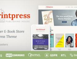 Printpress –  Book Publishing WordPress Theme