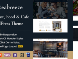 Seabreeze – Restaurant and Cafe WordPress Theme