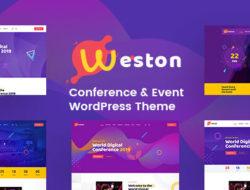 Weston – Conference & Event WordPress Theme