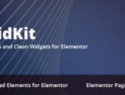 WidKit – Elementor Widgets Pack for WordPress