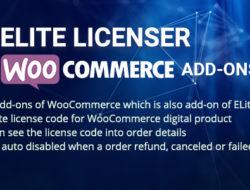 WooCommerce Product Licenser- Elite Licenser Pro Addon