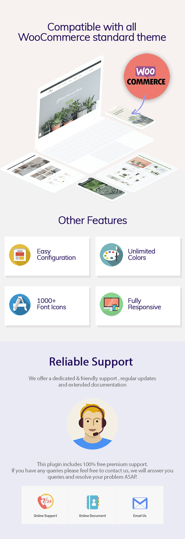 WOO Badge Designer Product Features