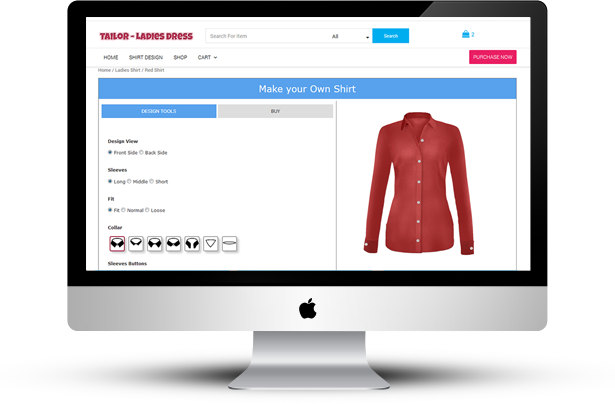 WooCommerce Ladies Shirt Tailor - 7