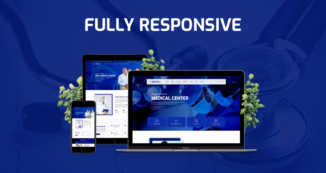 Medvill - Health & Medical WordPress Theme - 10