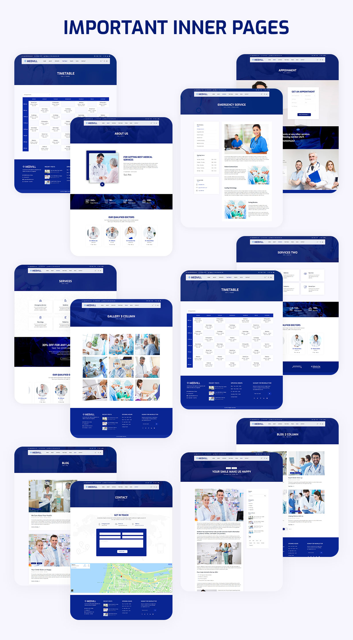 Medvill - Health & Medical WordPress Theme - 7