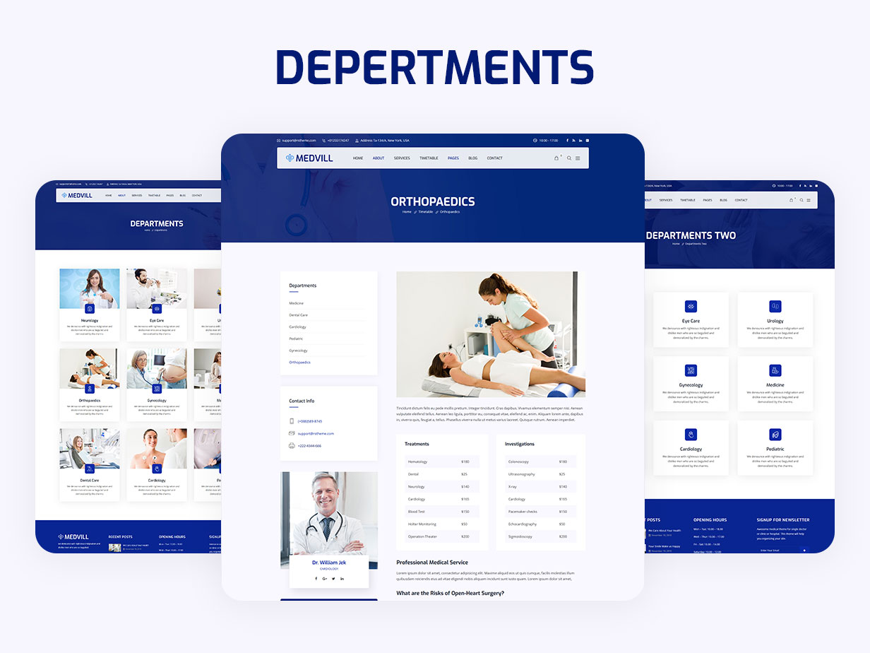 Medvill - Health & Medical WordPress Theme - 12